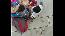 Indian Cpl outdoor Hanjob