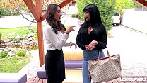 Lesbo lovers Anissa Kate & Valentina Ricci fill... thumb