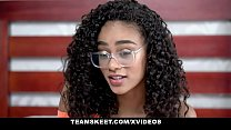 TeenyBlack - Gorgeous Tiny Black Girl Gets Fucked Hardcore By BWC Stud