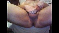 Mandingo white is making his penis big using pelvic muscles like black mandingo