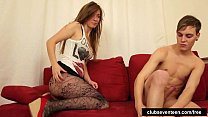 Superb teen babe gets fucked and facialized preview image