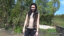 Gorgeous czech teenie gets seduced in the mall and shagged in pov Thumbnail