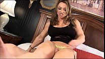 Image: EroticMuscleVideos BrandiMae Dominates And Pegs Dirty Old Man
