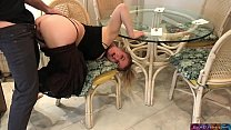 Stepmom stuck under the table - Erin Electra image