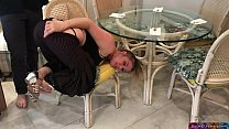Image: Stepmom stuck under the table - Erin Electra