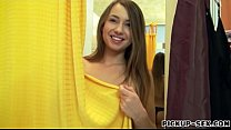 Eurobabe Taylor Sands pounded in change room for money