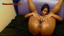 Curvy Ebony With A Big Ass Fills Pussy