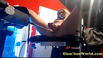 www.girls4cock.com *** Girl with Glasses gets Fucked by Sex Machine pornhub video