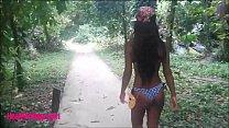 HD Thai Teen Outdoor Sucking Monster Cock In Th