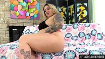 Busty Blond BBW Kendra Lee Ryan Has Her Furry P...