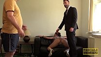 English subslut punished and facialized by rough dom thumbnail