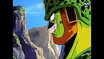 Dbz - Android 18 And Cell