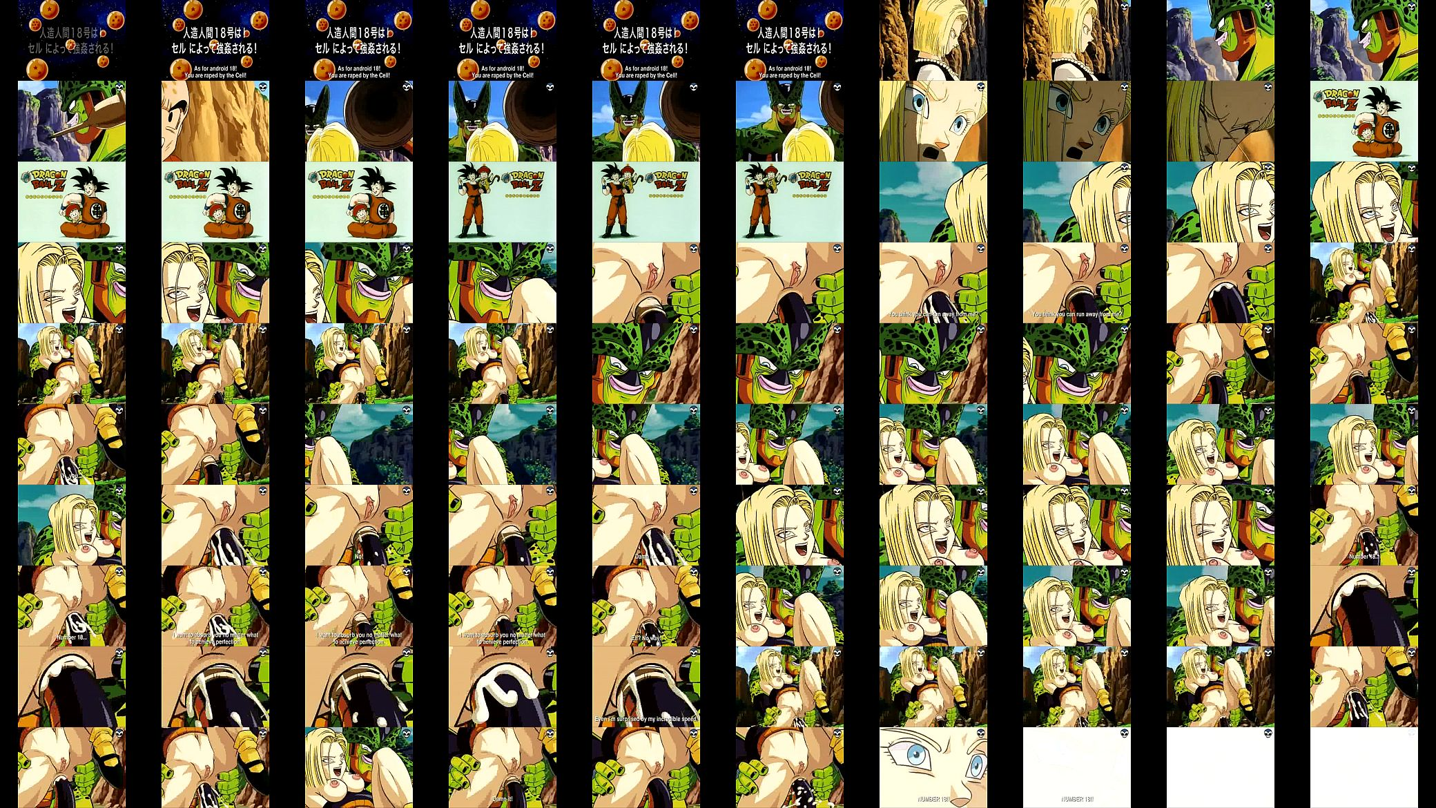 DBZ - Android 18 and Cell - XVIDEOS.COM