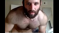 Hairy straight married guy plays with vibrator on cam 2