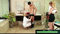 Nuru massage Sex with Busty Japanese Babe 01