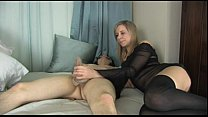 Pantyhose Handjob Free Sex Toy Porn Video 4E-Pantyhose4U.net