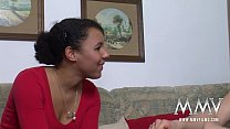MMV FILMS Shy Amateur Ebony Teen