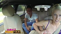 Female Fake Taxi Big tits blonde cabbie milf fucks young stud on backseat pornhub video