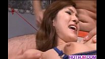 Mei Haruka Is Tied In Ropes And Fucked In Mouth And Pussy By Men
