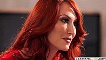 Kendra James Redhead Mom Pussy Tribbing Daughter | LesbianCums.com