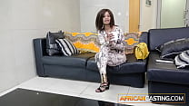 Married African Babe First Ass Fuck on Casting Couch