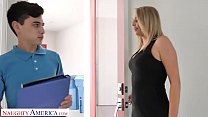 Image: Naughty America - Nicole  (Elle McRae) needs some young cock NOW
