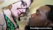 Black Bull Rome Major Cums On Inked Chloe Carter's Glasses!