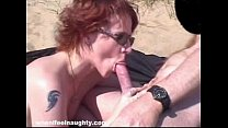 Screenshot Robin Pleasures Cock With Her Mouth
