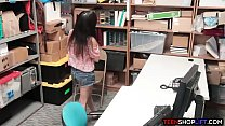 brazzers adverts - Colombian teen thief busted by a dirty security guard thumbnail