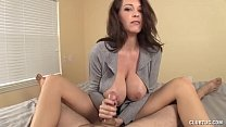 Busty MILF awesome blowjob