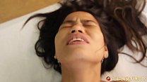 Asian Sex Diary - Slim young long-haired Asian babe rides big cock thumbnail