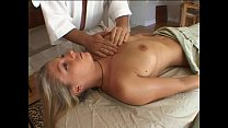 Blonde gets special massage pornhub video