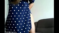 Webcam Hairy Cameltoe Tease in Dress - ProxyCam...