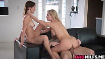 Image: Hot boyfriend 3some with Karter and Cherrie