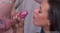 Amateur duo try to fuck pornstar Mea Melone but...