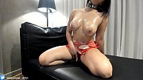 JOI Sexy Latina Big Boobs Strip Hot Oil Ass Models strip striptease solo bikini masturbate video