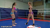 Nude FIght Club Presents: Blue Angel vs Ruth Me...