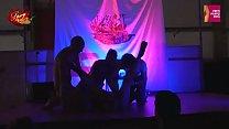 Orgia sul palco di SpicyLab al salone erotico di Oporto thumbnail