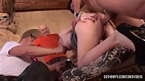 Husband watches blonde wife Liz Black get fucked by big dick before facial Preview