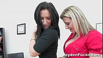 Busty Office Sluts With Jayden Jaymes's Thumb