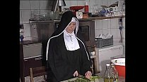 German Nun Assfucked In Kitchen pornhub video