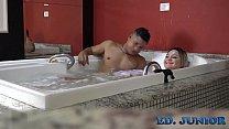 Depois da forte gravação de sexo é hora de relaxar - Ed Junior - Rafaella Denardin - by Binho Ted preview image