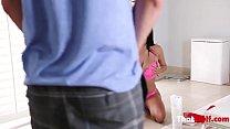 Foreign Brunette MOM Makes Sure SON Isn't Lonely- Anissa Kate