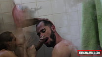 JUAN CALABARES AND HENRIQUE BECKER - SUCK AND PISS IN THE BATHROOM