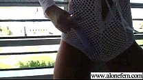 Hot Babe Girl Masrturbate With Toys On Tape clip-04