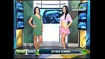 Goluri si Goale ep 8 Gina si Roxy (Romania naked news) porn image
