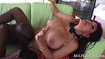 MILFGonzo Teri Weigel loves to gobble up BBC