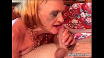 Old Mature Slut With Big Tits Gets Her