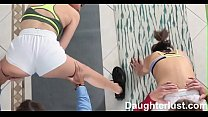 Helping our Daughters To Stretch Out & Fuck   |DaughterLust.com thumbnail