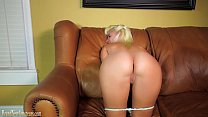 Big boobs teen hottie gets wild on a casting couch thumbnail